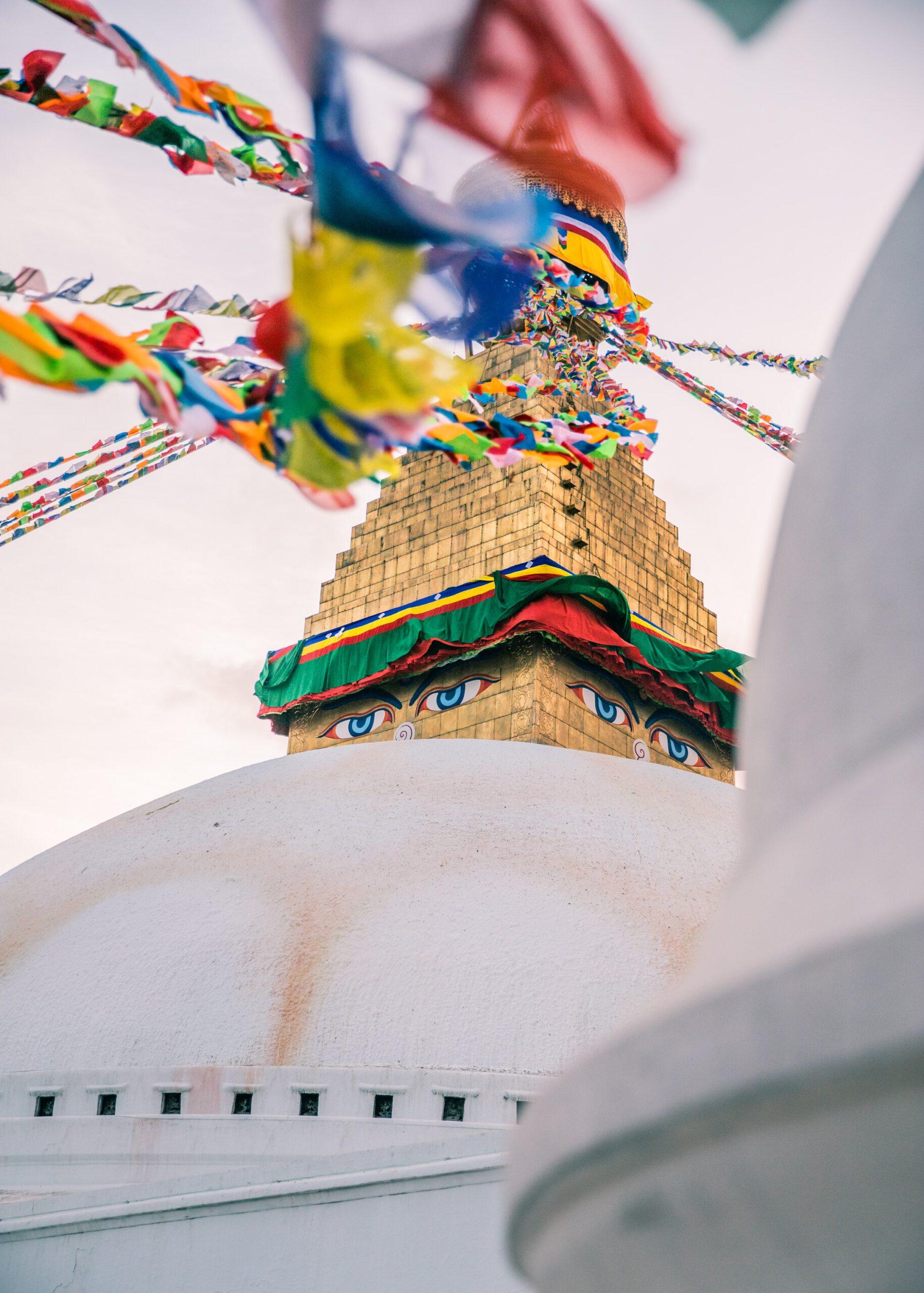 Tibetischer Buddhismus als Hintergrund und Tradition dessen, was die Basis der Meditation ist.